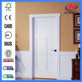 Glatter hölzerner Architrave Tür-der weißeren Primer-Tür (JHK-SK03-2)