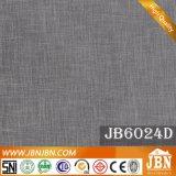 Azulejo de lino esmaltado rústico del diseño 600X600m m del final de la porcelana (JB6021D)
