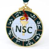 水泳のためのスポーツ競争のSuvenirカスタムエポキシのメダル