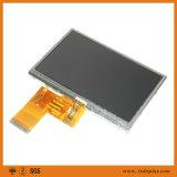 """Luminancia 350CD/m2 a 1000CD/m2 4.3 """" visualización de 480*272 TFT LCD"""