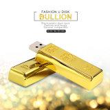 2.0 Goldstab USB-Blitz-Laufwerk Pendrives Metall-USB-Stock