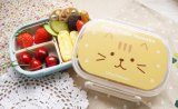 Doos van de Lunch van de Kat van de Liefde van BPA de Vrije pp met 20037