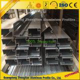 Le fournisseur en aluminium personnalisent le profil en verre en aluminium pour le mur rideau