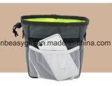 La bolsa del convite del perro con la basura empaqueta el dispensador, bolsa del entrenamiento del perro de Furryfido con la correa de cintura extralarga y sobre correa de hombro, lleva los convites, juguetes, claves Esg10228