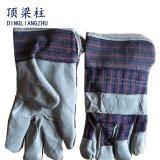 Перчатки заварки техники безопасности на производстве 10.5 дюймов сделанные из кожи коровы