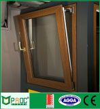 Colore di legno Windows di alluminio per la finestra di girata e di inclinazione