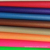 Cuoio sintetico artificiale del PVC di Dongguan per la presidenza dell'ufficio della mobilia del sofà