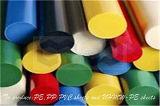 Штанга PE пластичная круглая с по-разному спецификацией