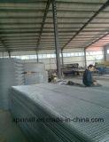 Panneau soudé par construction galvanisé de treillis métallique pour le béton
