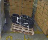 Trilha de borracha da máquina escavadora com alta qualidade (300*52.5*84W)