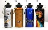Botella de agua promocional del recorrido
