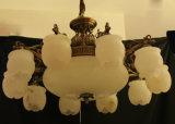 Europäische dekorative Innenbeleuchtung mit spanischem Marmor