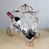 Домашний шкаф держателя чашки вина шкафа вина металла украшения вися