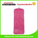 Rosa Multi-Purpose Puerta de viaje Organizador del armario colgante con gancho