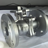 2PCSフランジFloating Stainless Steel Ball Valve