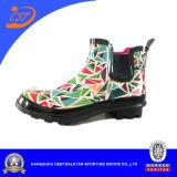 Ботинки дождя Ss-101 самых лучших девушок способа цветастые резиновый