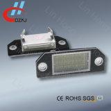 Lampe de plaque minéralogique de Canbus DEL pour Ford Focus Mk2 03-08 I C-Maximum 03 vers le haut