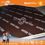 Building Material Waterproof Film Faced Shuttering Plywood (Concrete Formwork)