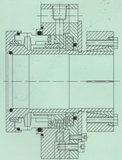 Bilanzstruktur Pumpe mechanische Dichtung (Hz3)