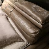 홈 (2092년)를 위한 입체 음향 장비를 가진 최고 털쪽을 겉으로 하여 다듬은 가죽 침대