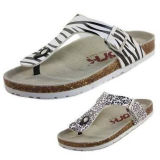 Beautiful Zebra Flip Flop
