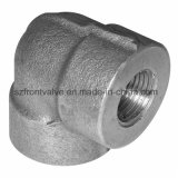 Forged Steel Threaded / Sw 90 Degree Elbow