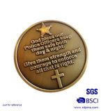 Kundenspezifisches Gold überzogene unbelegtes Metall geprägte Europa-Münze