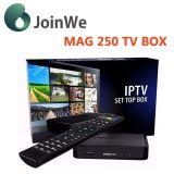 베스트셀러 Mag250 고정되는 최고 상자 리눅스 OS IPTV 텔레비젼 상자