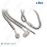 Trasduttore auricolare della collana, trasduttore auricolare del diamante, perla Earbuds
