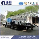 트럭에 의하여 거치되는 드릴링 리그 (HFT350B)