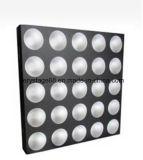 25*10Wクリー族白いカラーLEDピクセルマトリックスの視覚を妨げるものの効果ライト
