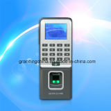 Comparecimento biométrico do tempo do controle de acesso da impressão digital com projeto magro (F09)