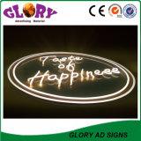 상점 LED 편지 표시 아크릴 가벼운 Signage