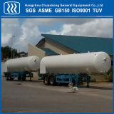 De chemische Vloeibare Tanker van de Aanhangwagen van het LNG van Co2 van de Stikstof van het Argon Oxgen Semi