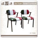 مطعم يستعمل معدن يتعشّى كرسي تثبيت مع اثنان أو ثلاثة لون ([ج-ت269])