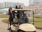 4 carrelli poco costosi della strumentazione di golf dei passeggeri dalla Cina