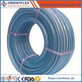 Nenhuma mangueira reforçada do PVC do cheiro fibra flexível