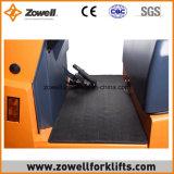ISO9001 elektrische Slepende Tractor die met 6 Ton Kracht trekken