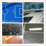 Hesheng 6mm Printing Tempered Glass as Decoration