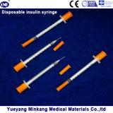처분할 수 있는 1cc 인슐린 주사통 0.5cc 인슐린 주사통 0.3cc 인슐린 주사통 (ENK-YDS-040)