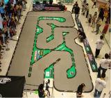 O projeto para boa vinda da pista de decolagem do carro da tração do 1:28 RC do 1:24 da trilha de Kyosho a Mini-z RC personaliza