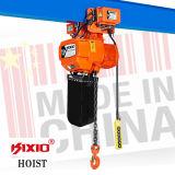 3 de Motor van kW Hijstoestel van de Keten van 1.5 Ton het Elektrische met Haak