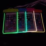 Noctilucent leuchtender Glühen-Handy-wasserdichte trockene Beutel-Kasten-Unterwasserbeutel für iPhone 6s 6 Plussamsung Handy