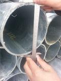 El tubo galvanizado costó en 453 USD/Ton, basados en realmente peso