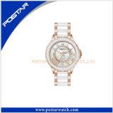 2016 Form-schwarze Uhr-Mann-Schwarz-Armbanduhren