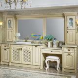 2014 Nueva 112.2 pulgadas Euro Style de madera maciza Muebles de Baño Talla