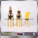 De nieuwe Kosmetische Fles van het Aluminium van de VacuümDeklaag