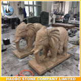 Steinbangkok-Elefant-Statue