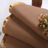 高品質の贅沢な100%Wool毛布(DPF2655)