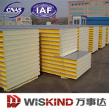 Longue vie Polyurethane /PU Sandwich Panel pour Steel Workshop/Warehouse